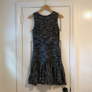 Saks Fifth Avenue Black and White Dress